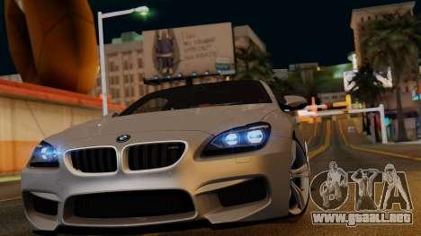 BMW M6 2013 v1.0 para las ruedas de GTA San Andreas