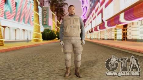 [GTA5] BlackOps1 Army Skin Desert para GTA San Andreas segunda pantalla