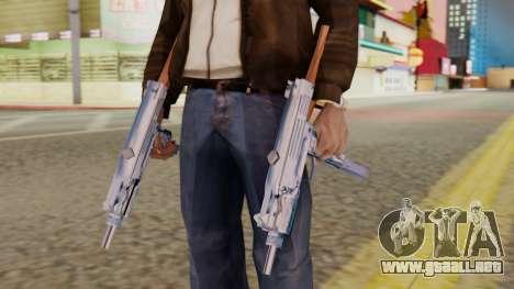 IMI Uzi v2 SA Style para GTA San Andreas tercera pantalla