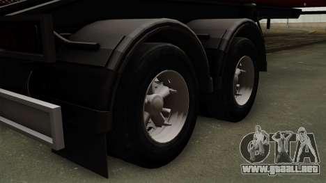 Trailer Dumper para GTA San Andreas vista posterior izquierda
