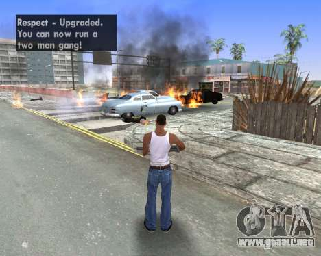 Blood Effects para GTA San Andreas sexta pantalla