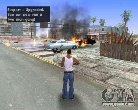 Blood Effects para GTA San Andreas sexta pantalla