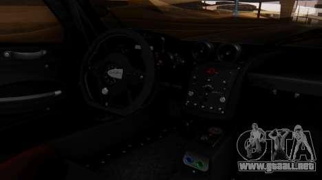 Pagani Zonda Revolucion 2015 para la visión correcta GTA San Andreas