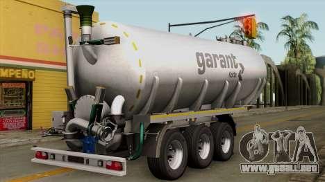 Trailer Kotte Garant para GTA San Andreas left