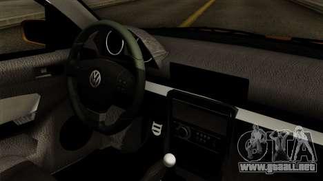 Volkswagen Golf 2004 Edit para la visión correcta GTA San Andreas
