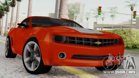 NFS Carbon Chevrolet Camaro IVF para GTA San Andreas
