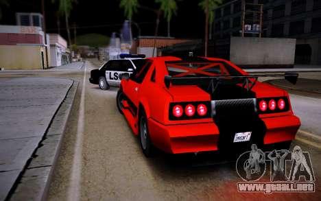 Buffalo GTR para GTA San Andreas left