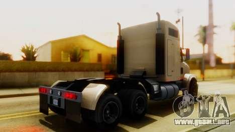 GTA 5 MTL Packer Trainer IVF para GTA San Andreas vista posterior izquierda