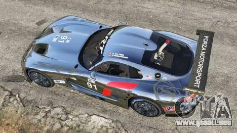 GTA 5 Dodge Viper GTS-R SRT 2013 [Beta] vista trasera