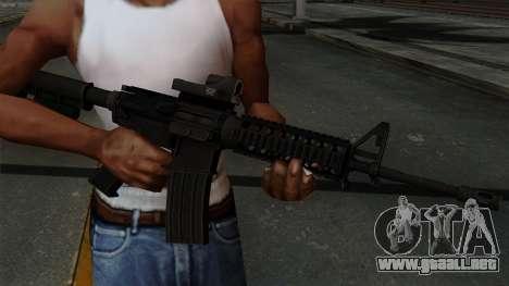 AR-15 Elcan para GTA San Andreas tercera pantalla