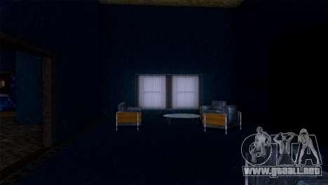 Retextured interior de la mansión de MADD Dogg para GTA San Andreas séptima pantalla