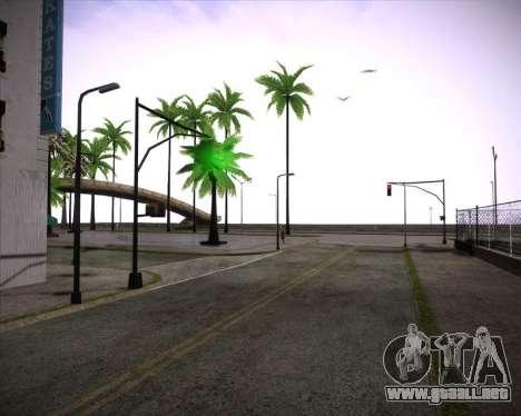 Professional Graphics Mod 1.2 para GTA San Andreas sucesivamente de pantalla