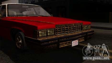 GTA 5 Albany Emperor Worn IVF para la visión correcta GTA San Andreas