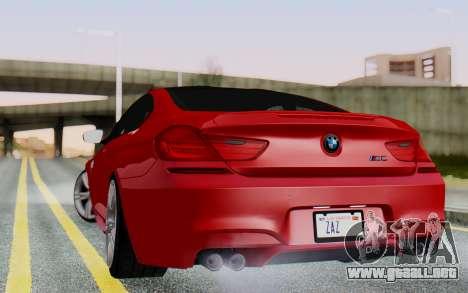 BMW M6 2013 v1.0 para GTA San Andreas left