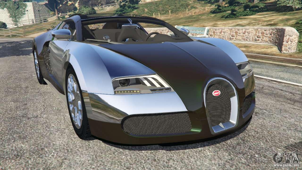 bugatti veyron grand sport v3 0 para gta 5. Black Bedroom Furniture Sets. Home Design Ideas