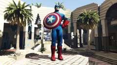 Estatua Del Capitán América para GTA 5