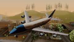 Boeing 747 Air Force One para GTA San Andreas
