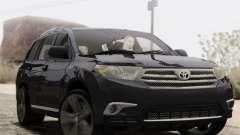Toyota Highlander 2011 para GTA San Andreas