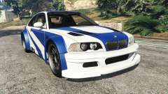 BMW M3 GTR E46 Most Wanted para GTA 5