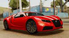 GTA 5 Adder Secondary Color Tire Dirt para GTA San Andreas