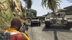 El ejército en lugar de la policía en 5-stars v1.3.4 para GTA 5