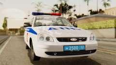 Lada 2170 Priora de la policía de tráfico de la