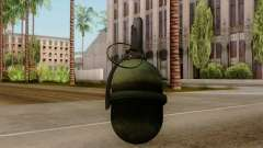 Original HD Grenade para GTA San Andreas