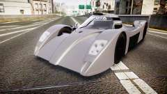 Toyota GT-One TS020 black spoiler para GTA 4