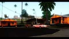 Nuevas texturas de las casas alrededor de grove Street para GTA San Andreas