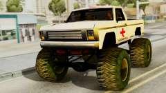 Nueva pintura original de Un Monstruo para GTA San Andreas