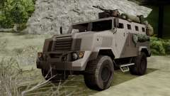 SPM-3 from Battlefiled 4 para GTA San Andreas