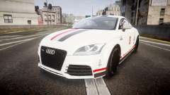 Audi TT RS 2010 Shelley para GTA 4