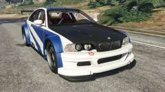 BMW M3 GTR E46 Most Wanted v1.2 para GTA 5