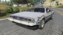 DeLorean DMC-12 Back To The Future v0.2