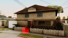 New House for CJ para GTA San Andreas