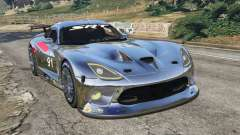 Dodge Viper GTS-R SRT 2013 [Beta] para GTA 5