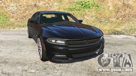 Dodge Charger RT 2015 v0.5 para GTA 5