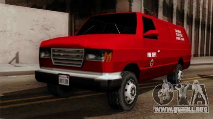 SAFD In Service Training Van para GTA San Andreas