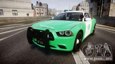 Dodge Charger Carabineros de Chile [ELS] para GTA 4
