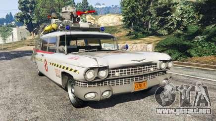 Cadillac Miller-Meteor 1959 ECTO-1 v0.1 [Beta] para GTA 5