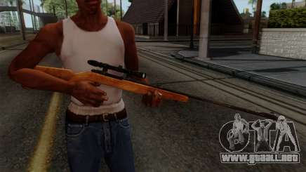 Original HD Sniper Rifle para GTA San Andreas