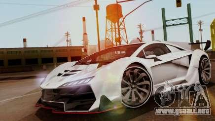 Pegassi Zentorno Veneno para GTA San Andreas