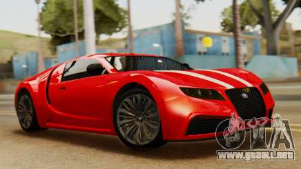 GTA 5 Adder Secondary Color Tire Dirt para GTA San Andreas