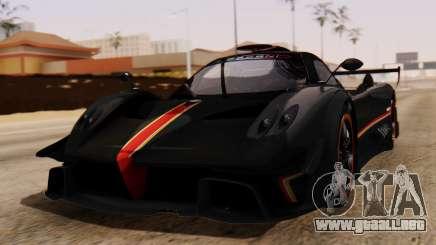 Pagani Zonda Revolucion 2015 para GTA San Andreas
