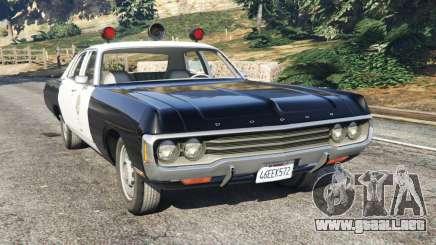 Dodge Polara 1971 Police para GTA 5