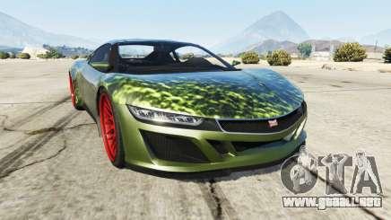 Dinka Jester (Racecar) Hulk para GTA 5