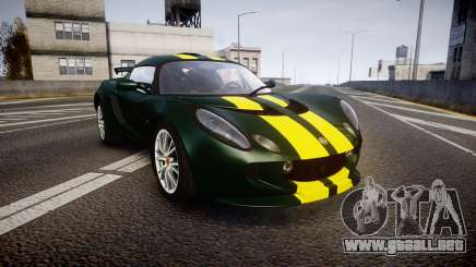 Lotus Exige 240 CUP 2006 Team Lotus para GTA 4
