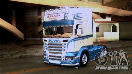 Scania R730 tractor para GTA San Andreas