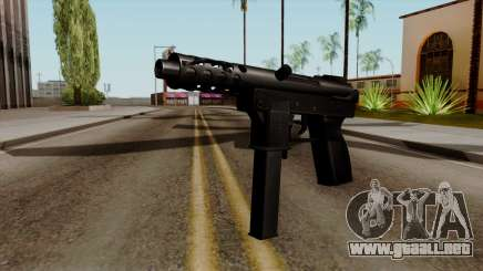 Original HD Tec9 para GTA San Andreas