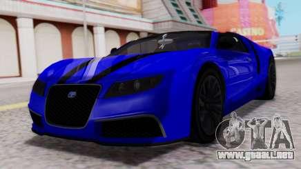 GTA 5 Truffade Adder Convertible para GTA San Andreas